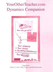 Cover of: YourOtherTeacher.com Dynamics Companion | Jeff Jones