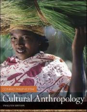Cover of: Cultural Anthropology with Living Anthropology Student CD by Conrad Kottak