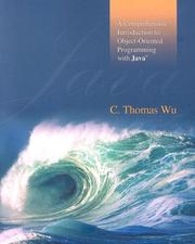 Cover of: A Comprehensive Introduction to Object-Oriented Programming with Java | C. Thomas Wu (Otani)