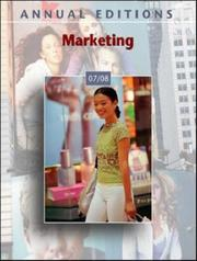 Cover of: Marketing by John E. Richardson