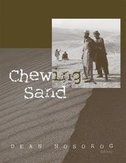 Cover of: Chewing Sand | Dean Nosorog