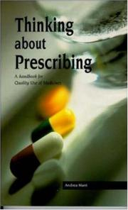 Cover of: Thinking About Prescribing | Andrea Mant
