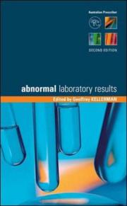 Cover of: Abnormal Laboratory Results | Geoffrey Kellerman