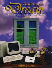 Cover of: Building a Dream | Walter S. Good
