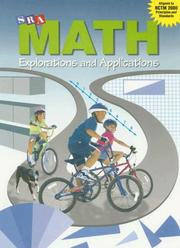 Cover of: Math Explorations & Applications Level 3 | Wright Group-McGraw Hill