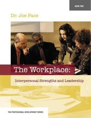 Cover of: Professional Development Series Book 2     The Workplace | Joseph Pace