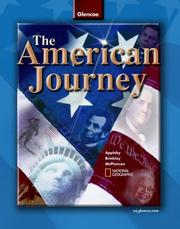 Cover of: The American Journey | Alan Brinkley, McGraw-Hill James M. McPherson