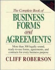 "Cover of: The Complete Book of Business Forms and Agreements, Book and 3.5"" Disk Set 