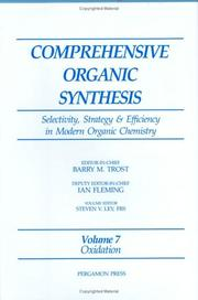 Cover of: Comprehensive Organic Synthesis by S.V. Ley
