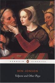 Cover of: Ben Jonson by Ben Jonson