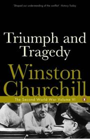 Cover of: Triumph and Tragedy (Second World War) | Winston S. Churchill