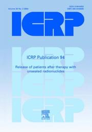 Cover of: ICRP Publication 94 | ICRP