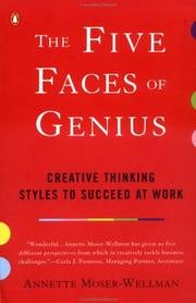 Cover of: The Five Faces of Genius | Annette Moser-Wellman