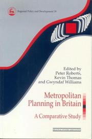 Cover of: Metropolitan Planning in Britain by Roberts