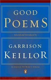 Cover of: Good Poems | Garrison  Keillor