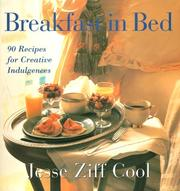 Cover of: Breakfast in bed by Jesse Ziff Cool