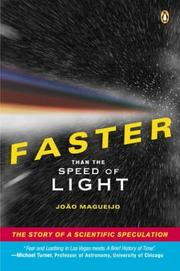 Cover of: Faster Than the Speed of Light | Joao Magueijo