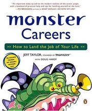 Cover of: Monster Careers | Jeff; Hardy, Doug Taylor