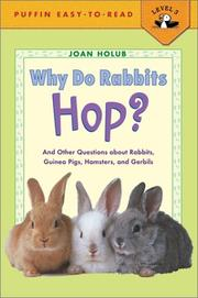 Cover of: Why Do Rabbits Hop? by Joan Holub