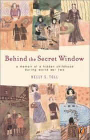 Cover of: Behind the Secret Window | Nelly Toll