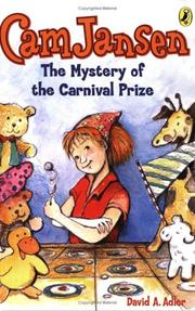 Cover of: Cam Jansen #9 Mystery of the Carnival Prize (Cam Jansen) | David A. Adler