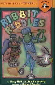 Cover of: Ribbit Riddles | Katy Hall