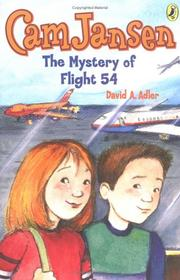 Cover of: Cam Jansen #12 Mystery of Flight 54 (Cam Jansen) | David A. Adler