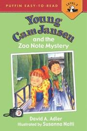 Cover of: Young Cam Jansen & the Zoo Note Mystery (Young Cam Jansen) | David A. Adler