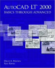 Cover of: AutoCAD LT(R) 2000 | David A. Madsen