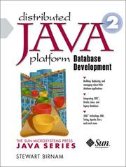 Cover of: Distributed Java 2 Platform Database Development | Stewart Birnam