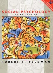 Cover of: Social Psychology | Robert S. Feldman