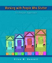 Cover of: Working with People Who Stutter | Ellen M. Bennett