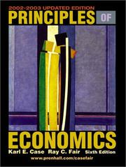 Cover of: Principles of Economics | Karl E. Case