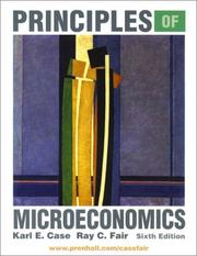 Cover of: Principles of Microeconomics and ActiveEcon CD Package | Karl E. Case