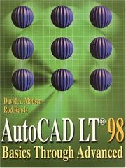 Cover of: AutoCAD LT 98 | David A. Madsen
