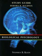 Cover of: Biological Psychology by Stephen B. Klein