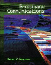 Cover of: Broadband Communications by Robert Newman