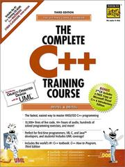 Cover of: The Complete C++ Training Course by Deitel and Deitel