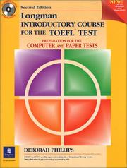 Longman Introductory Course For The Toefl Test Open Library