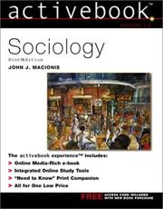 Cover of: Sociology Active Book | John J. Macionis