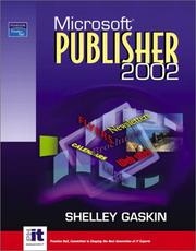 Cover of: Microsoft Publisher 2002 | Shelley Gaskin