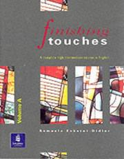 Cover of: Finishing touches by Samuela Eckstut-Didier