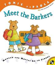 Cover of: Meet the Barkers | Tomie  dePaola