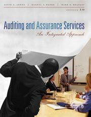 Cover of: Auditing and Assurance Services | Randal J. Elder, Arens Alvin Mark Beasley