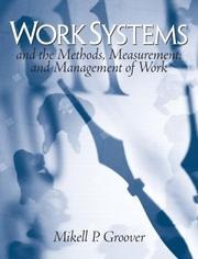 Cover of: Work Systems | Mikell P. Groover