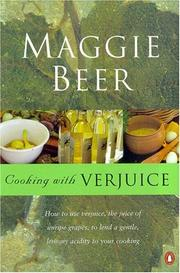 Cover of: Cooking with Verjuice | Maggie Beer
