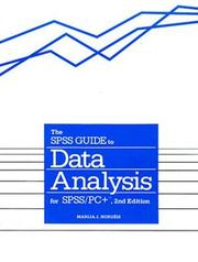 Cover of: SPSS Guide to Data Analysis for SPSS-PC Plus | Marija J. Norusis