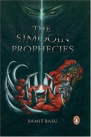 Cover of: The Simoqin Prophecies | Samit Basu