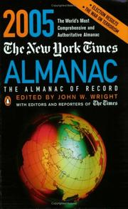 Cover of: The New York Times Almanac 2005 | John W. Wright