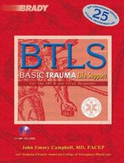 Cover of: Basic Trauma Life Support for the  EMT-B & First Responder by John Campbell
